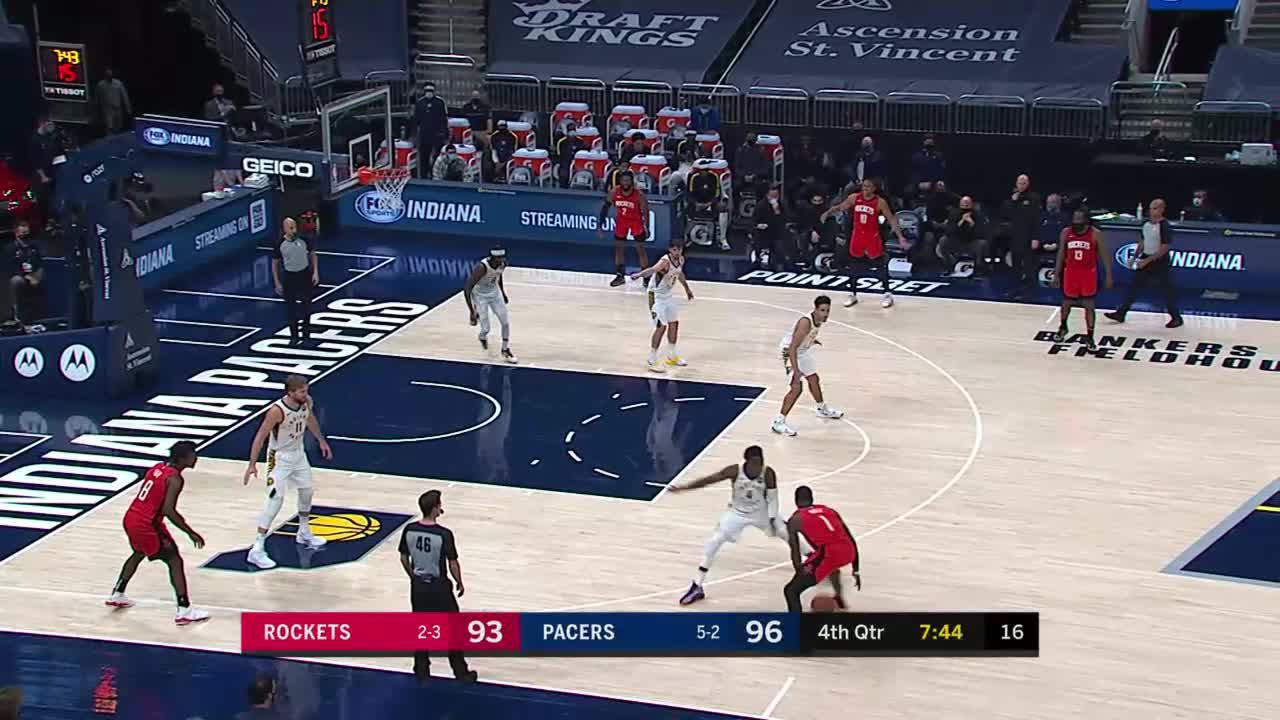 Vic Finishes After the Steal